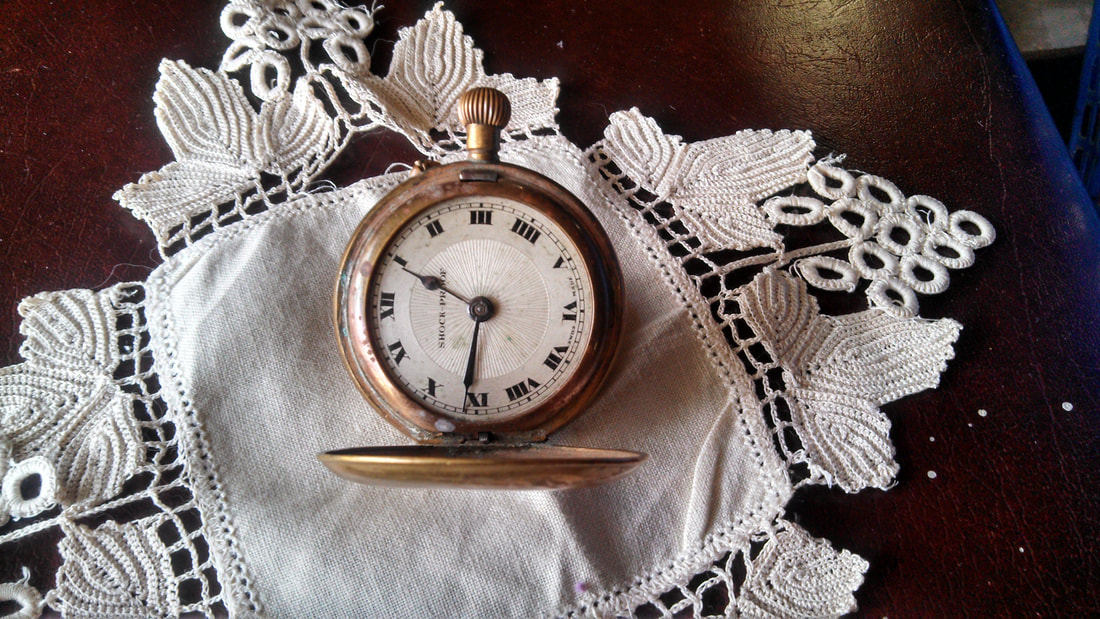 stock image of Antique pocket watch